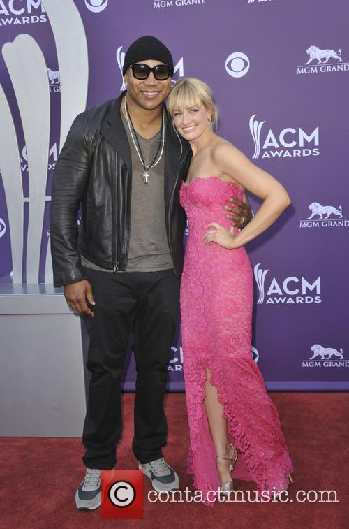 Ll Cool J and Beth Behrs 2