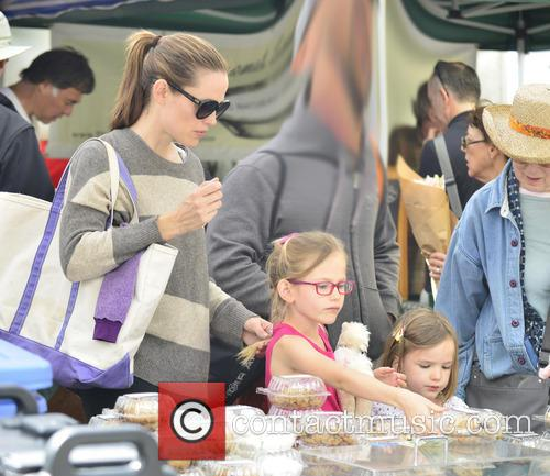 Jennifer Garner, Violet Affleck and Seraphina Affleck 11