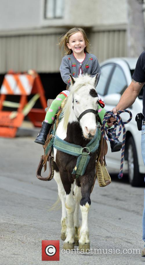 Jennifer Garner and Seraphina Affleck 3