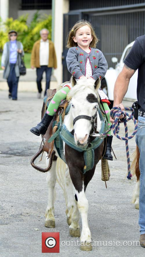 Jennifer Garner and Seraphina Affleck 10