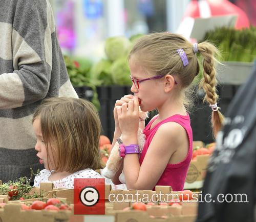 Jennifer Garner, Violet Affleck and Seraphina Affleck 6