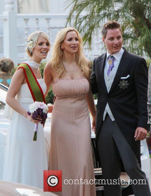 Jordan Carver, Prinz Ferdinand Von Anhalt and Sissi Fahrenschon 2