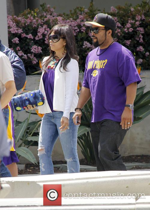 Ice Cube, Kimberly Woodruff and Shea 3