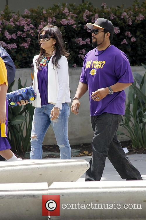 Ice Cube, Kimberly Woodruff and Shea 4