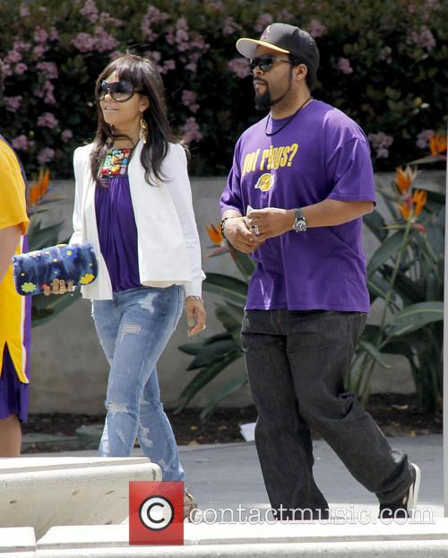 Ice Cube, Kimberly Woodruff and Shea 1