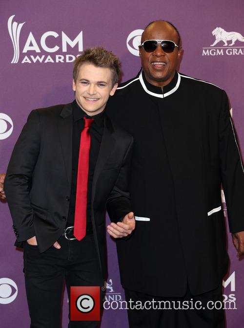 Hunter Hayes and Stevie Wonder 7