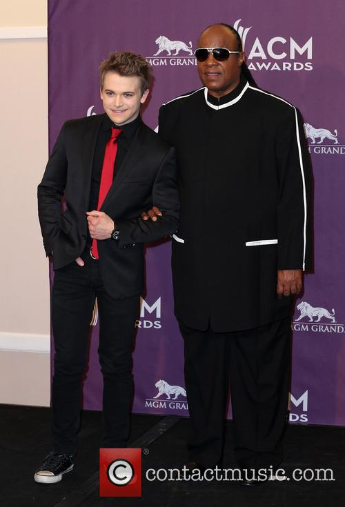 Hunter Hayes and Stevie Wonder 8