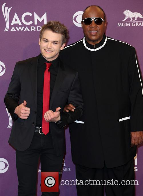 Hunter Hayes and Stevie Wonder 9