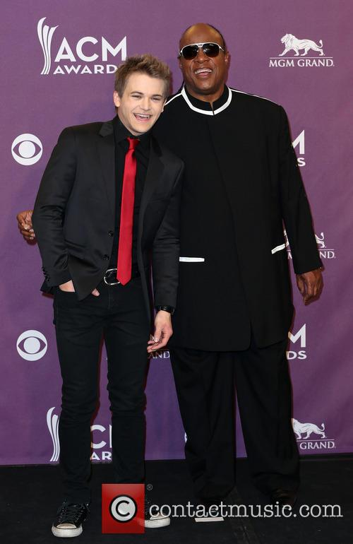 Hunter Hayes and Stevie Wonder 10