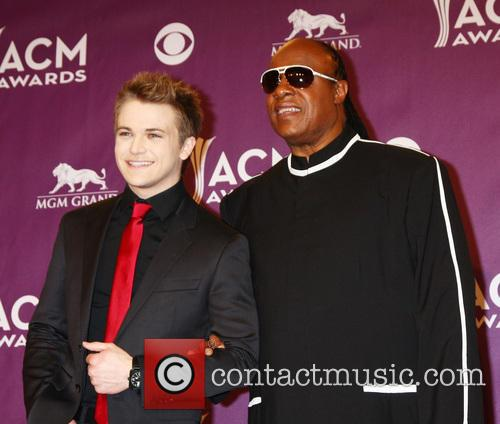 Hunter Hayes and Stevie Wonder 2