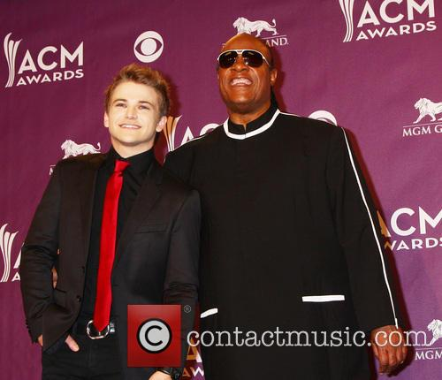 Hunter Hayes and Stevie Wonder 5