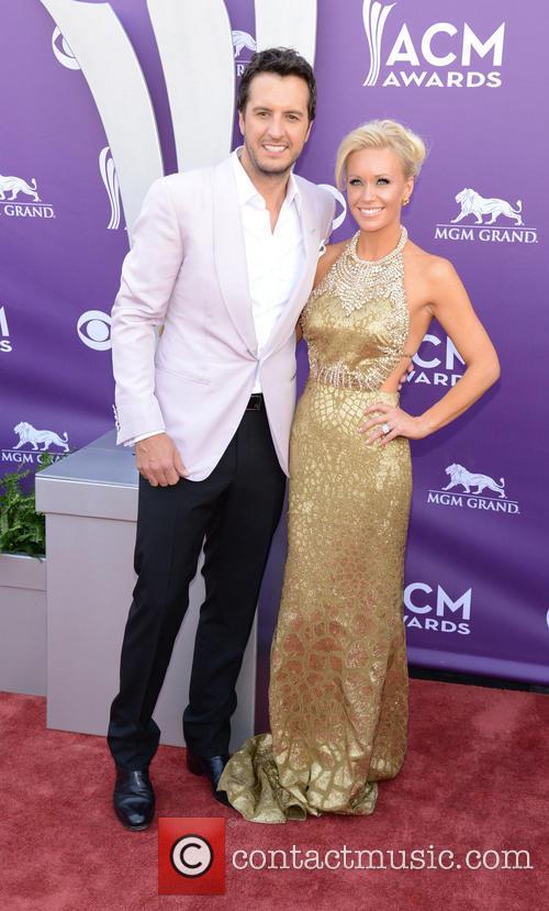 Luke Bryan and Caroline Bryan 6