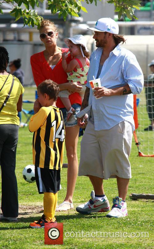 Kevin Federline, Victoria Prince and Jordan Federline 9