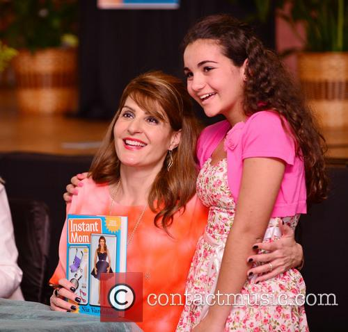 Actress Nia Vardalos discusses and signs copies of...