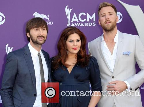 Dave Haywood, Hillary Scott From Lady Antebellum and Charles Kelley 1