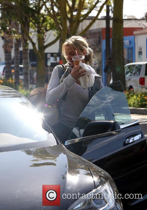 Cameron Diaz after visiting th gym in Studio City