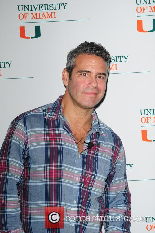 Andy Cohen signs copy of his book 'Most...