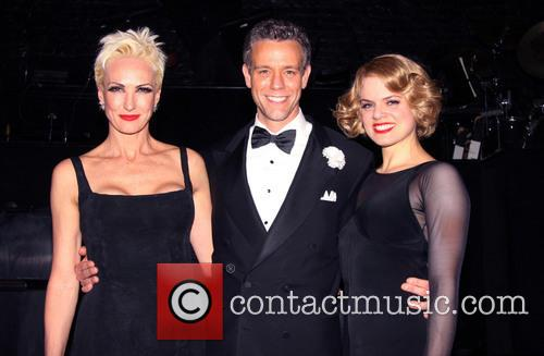 The new cast of the Broadway musical CHICAGO...