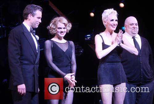 Adam Pascal, Amy Spanger and Amra-faye Wright