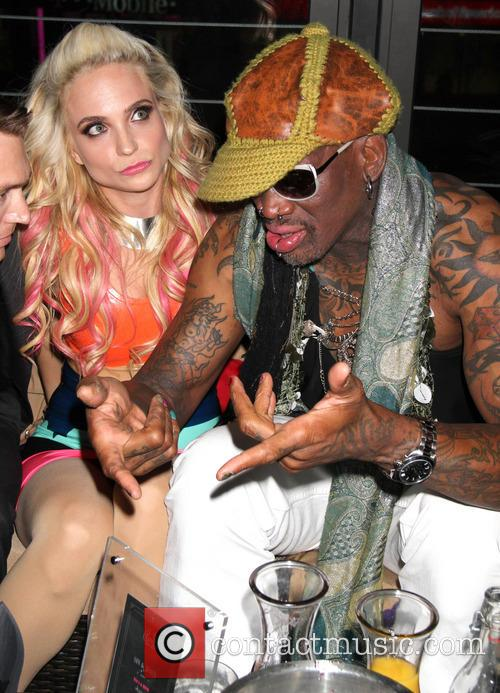 Dennis Rodman and Cara Quici 3