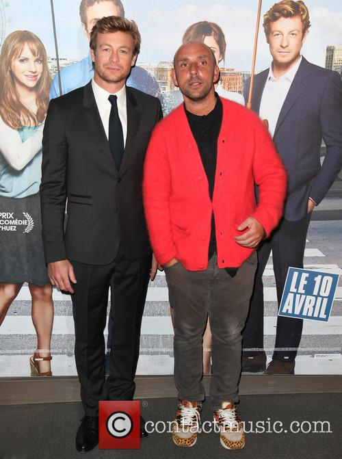 Simon Baker and Dan Mazer 11