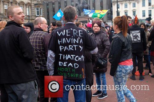 Thatcher Celebrations In Glasgow