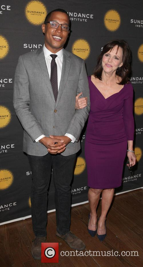 Branden Jacobs-jenkins and Sally Field 3