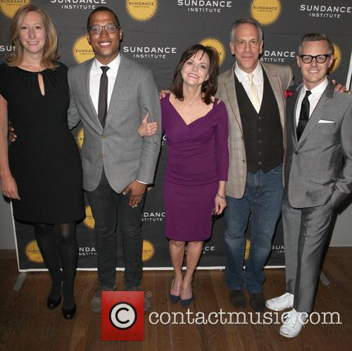 From L To R and Sundance Institute Executive Director Keri Putnam 6