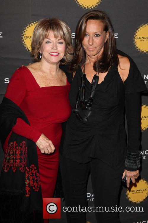 Pat Mitchell and Donna Karan 3