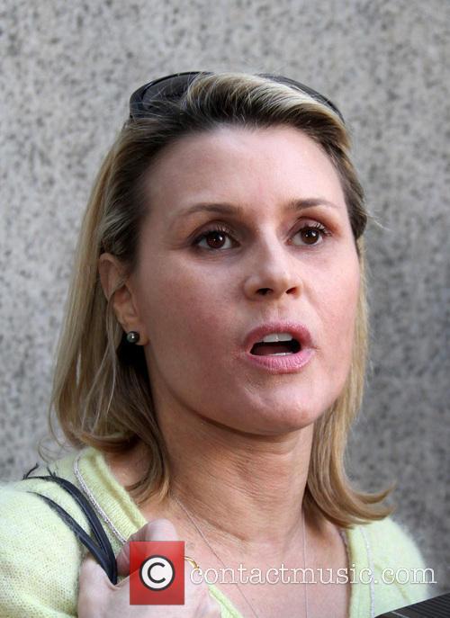 Alec Baldwin's alleged stalker Genevieve Sabourin departs the...