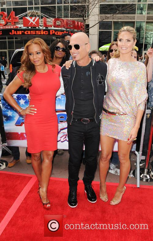 Melanie Brown, Mel B, Howie Mandel and Heidi Klum 5