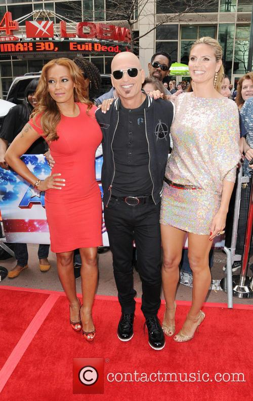 Melanie Brown, Mel B, Howie Mandel and Heidi Klum 7
