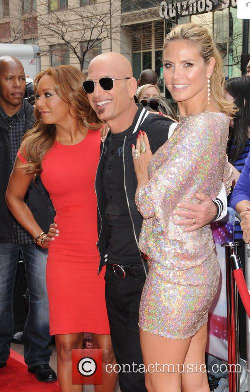 Melanie Brown, Mel B, Howie Mandel and Heidi Klum 8