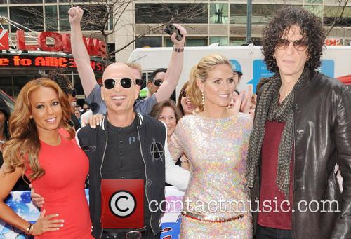 Melanie Brown, Mel B, Howie Mandel, Heidi Klum and Howard Stern 7