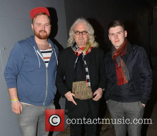Billy Connolly, Buskers Evan Walsh and Colm Gavin 2