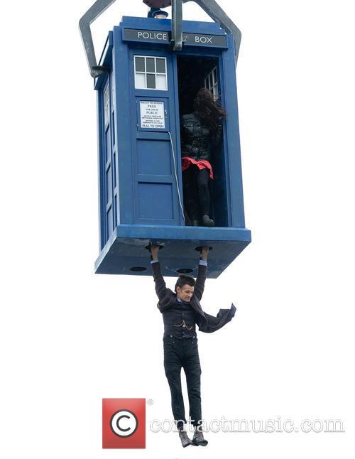Matt Smith, Jenna-Louise Coleman, Trafalgar Square
