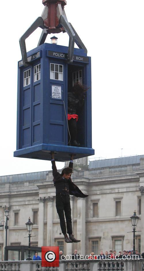 Matt Smith, Doctor Who Filming