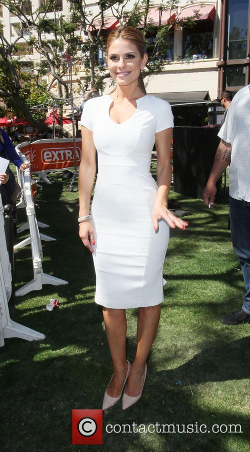 maria menounos celebrities at the grove for 3597416