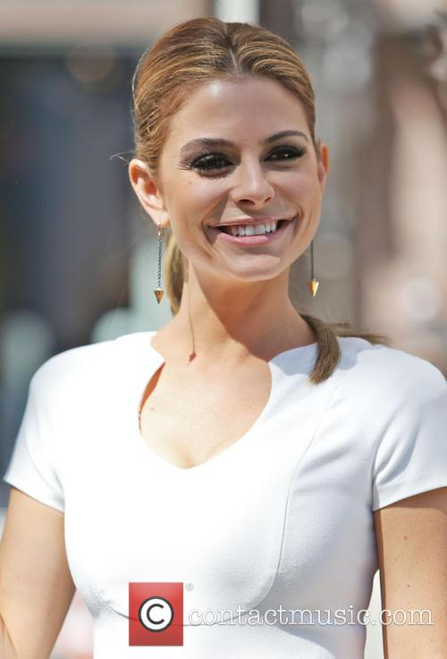 maria menounos celebrities at the grove for 3597425