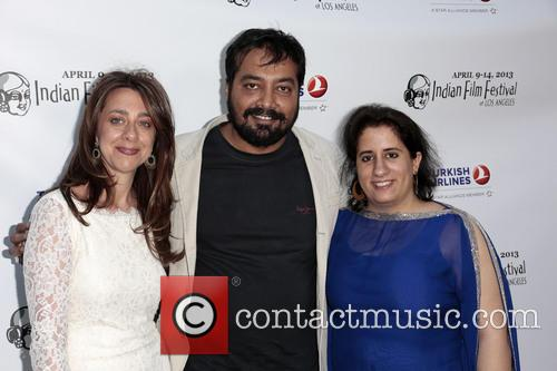 Christina Marouda, Anurag Kashyap, Guneet Monga, Archlight Hollywood