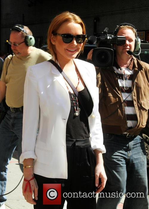 Lindsay Lohan, Ed Sullivan Theater, The Late Show