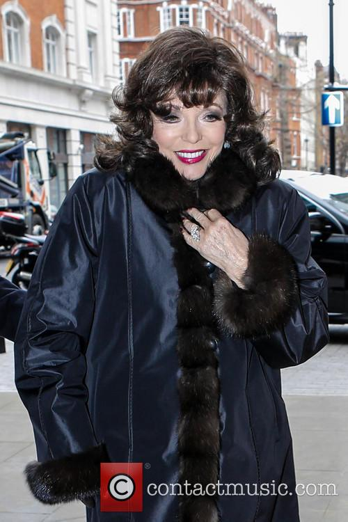 joan collins joan collins at the bbc 3592260
