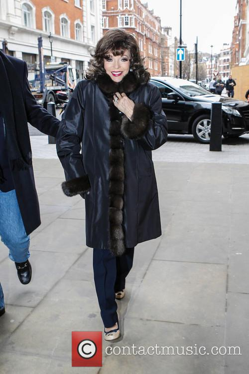 Joan Collins, BBC Radio 2