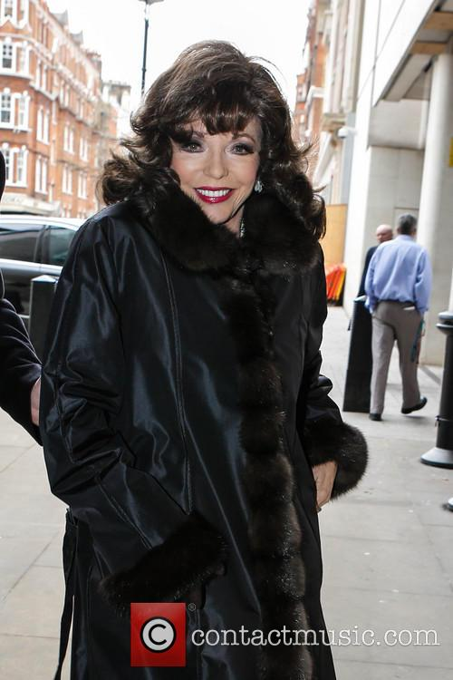 joan collins joan collins at the bbc 3592262