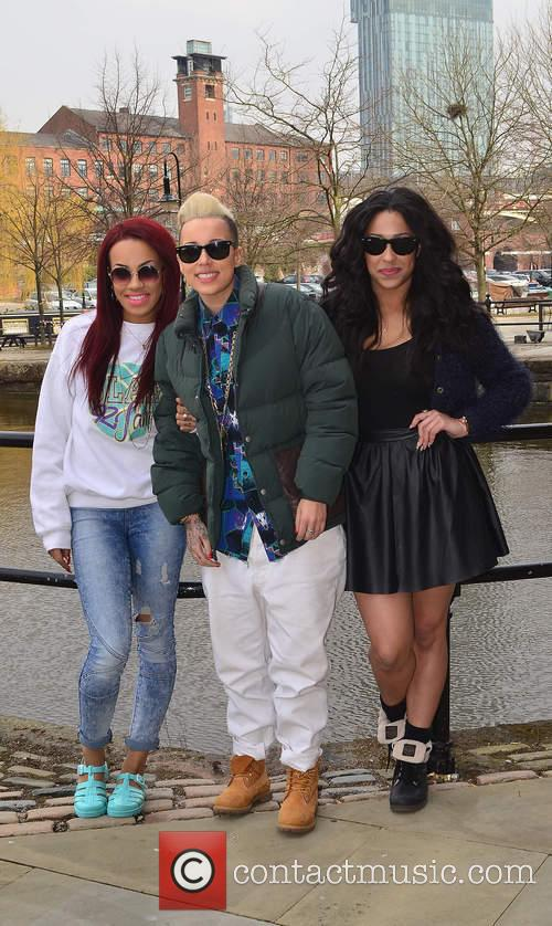 Stooshe, Karis Anderson, Courtney Rumbold and Alexandra Buggs 1