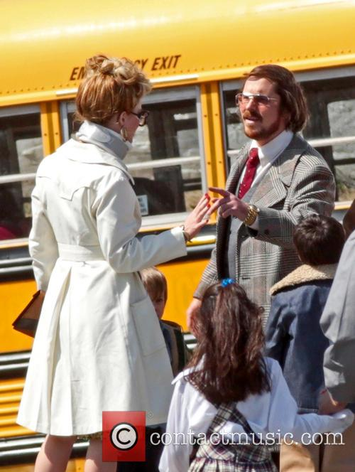 Jennifer Lawrence, Christian Bale and Amy Adams 1