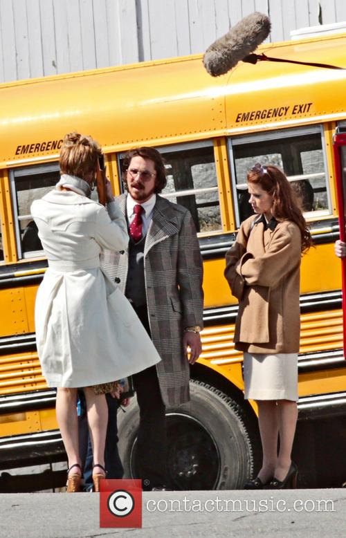 Jennifer Lawrence, Christian Bale and Amy Adams 4