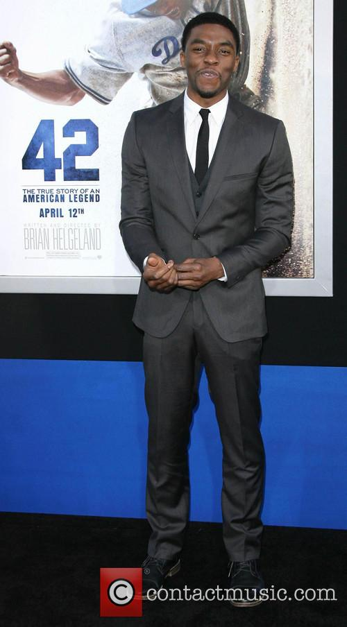 chadwick boseman los angeles premiere of 42 3597007