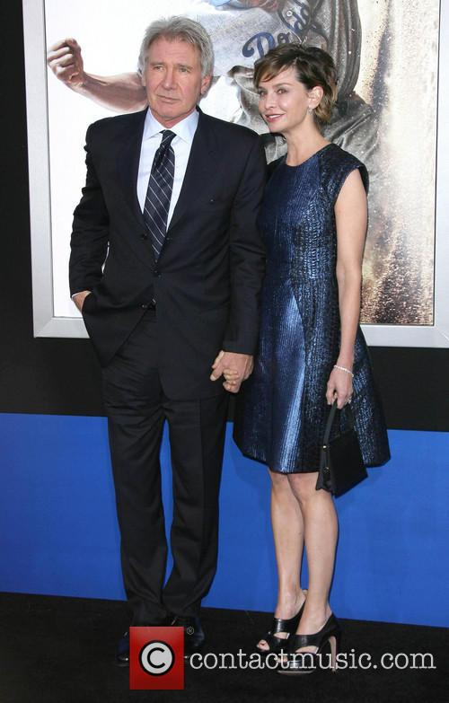 Harrison Ford and Calista Flockhart 6