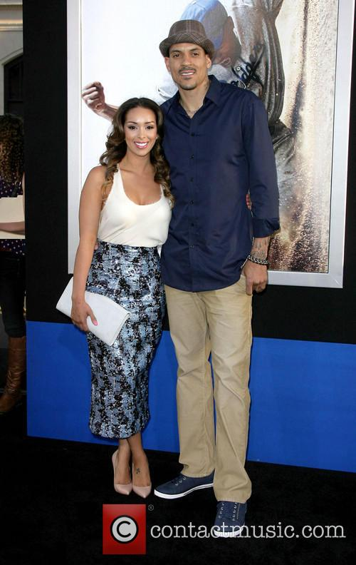 gloria govan matt barnes los angeles premiere 3597687